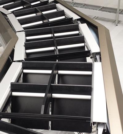 The Tilt Tray sorting machine